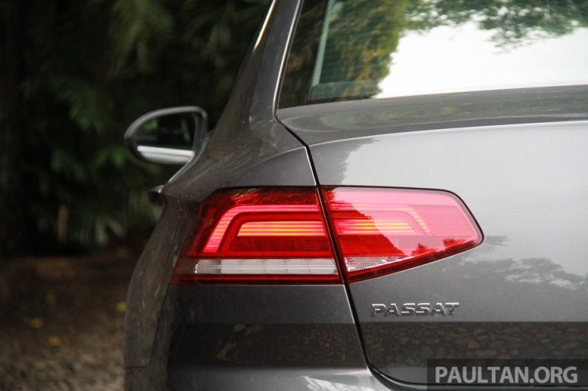 Volkswagen Passat B8 dipertonton awal sebelum pelancaran – pilihan enjin 1.8L dan 2.0L TSI, tiga varian Image #572689
