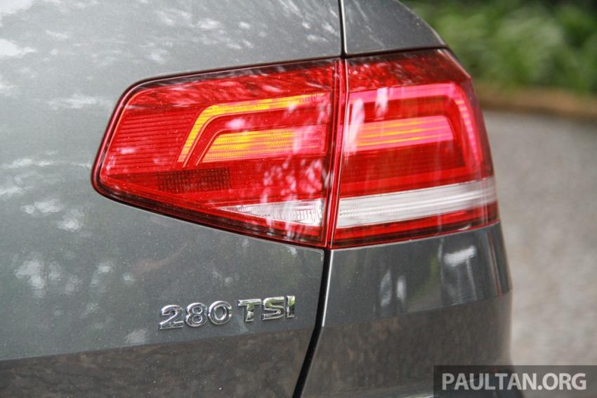 Volkswagen Passat B8 dipertonton awal sebelum pelancaran – pilihan enjin 1.8L dan 2.0L TSI, tiga varian Image #572690