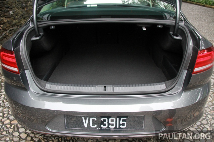 Volkswagen Passat B8 dipertonton awal sebelum pelancaran – pilihan enjin 1.8L dan 2.0L TSI, tiga varian Image #572691