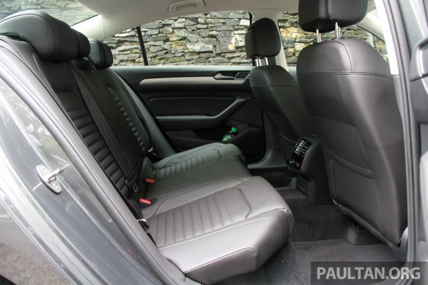 Volkswagen Passat B8 dipertonton awal sebelum pelancaran – pilihan enjin 1.8L dan 2.0L TSI, tiga varian Image #572692