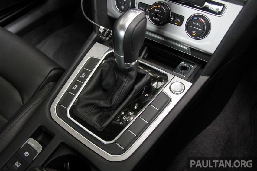 Volkswagen Passat B8 dipertonton awal sebelum pelancaran – pilihan enjin 1.8L dan 2.0L TSI, tiga varian Image #572694