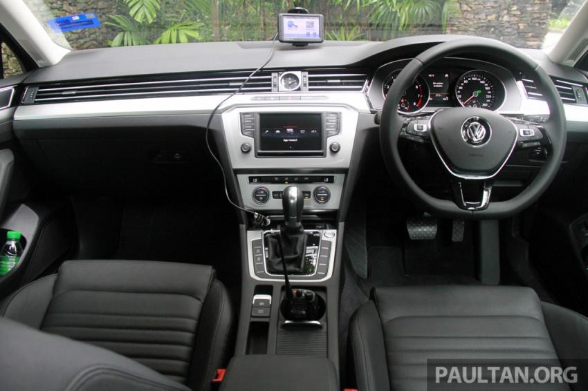 Volkswagen Passat B8 dipertonton awal sebelum pelancaran – pilihan enjin 1.8L dan 2.0L TSI, tiga varian Image #572698