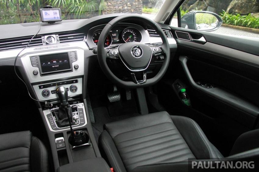 Volkswagen Passat B8 dipertonton awal sebelum pelancaran – pilihan enjin 1.8L dan 2.0L TSI, tiga varian Image #572699