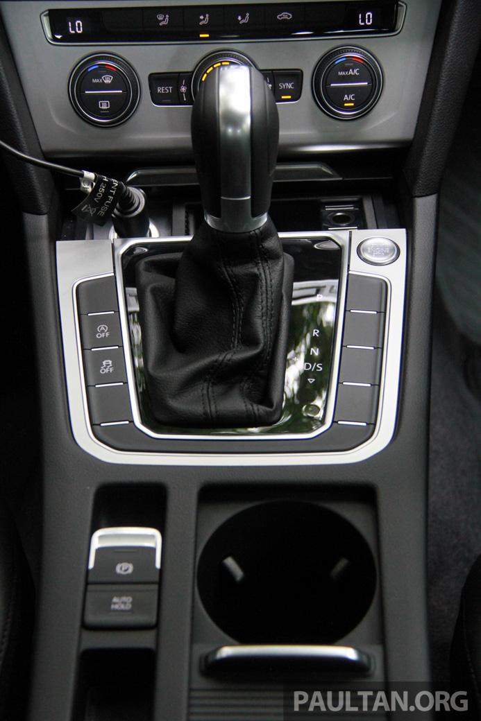 Volkswagen Passat B8 dipertonton awal sebelum pelancaran – pilihan enjin 1.8L dan 2.0L TSI, tiga varian Image #572701