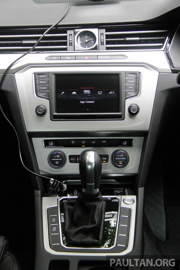 Volkswagen Passat B8 dipertonton awal sebelum pelancaran – pilihan enjin 1.8L dan 2.0L TSI, tiga varian Image #572702