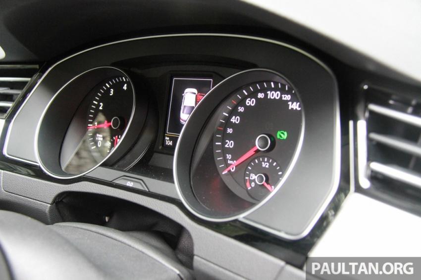 Volkswagen Passat B8 dipertonton awal sebelum pelancaran – pilihan enjin 1.8L dan 2.0L TSI, tiga varian Image #572706