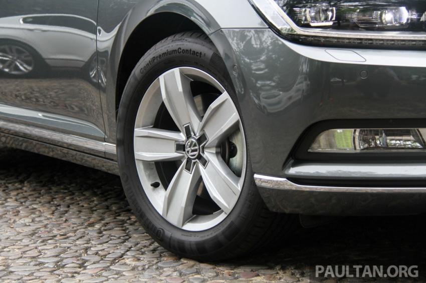 Volkswagen Passat B8 dipertonton awal sebelum pelancaran – pilihan enjin 1.8L dan 2.0L TSI, tiga varian Image #572675