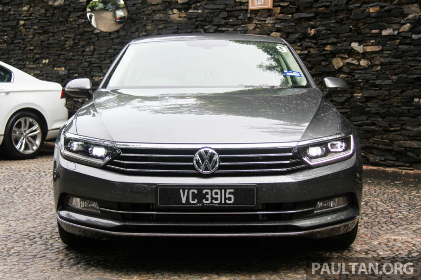 Volkswagen Passat B8 dipertonton awal sebelum pelancaran – pilihan enjin 1.8L dan 2.0L TSI, tiga varian Image #572677