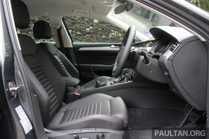 Volkswagen Passat B8 dipertonton awal sebelum pelancaran – pilihan enjin 1.8L dan 2.0L TSI, tiga varian Image #572680
