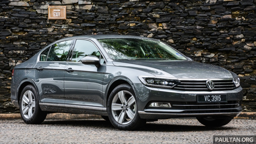 B8 Volkswagen Passat previewed in Malaysia – 1.8L and 2.0L TSI, 3 trim levels, launching this month Image #572718