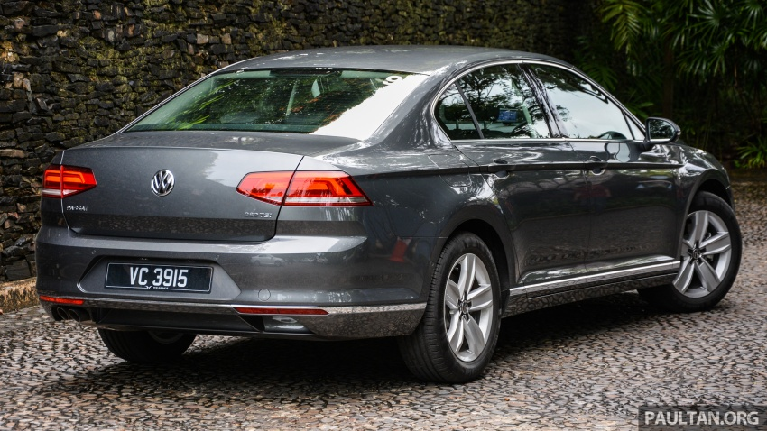 B8 Volkswagen Passat previewed in Malaysia – 1.8L and 2.0L TSI, 3 trim levels, launching this month Image #572719