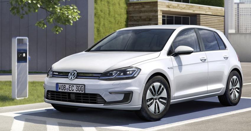 Volkswagen e-Golf facelift – new looks, more range Image #581464