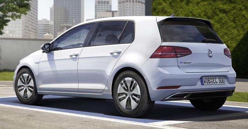 Volkswagen e-Golf facelift – new looks, more range Image #581465