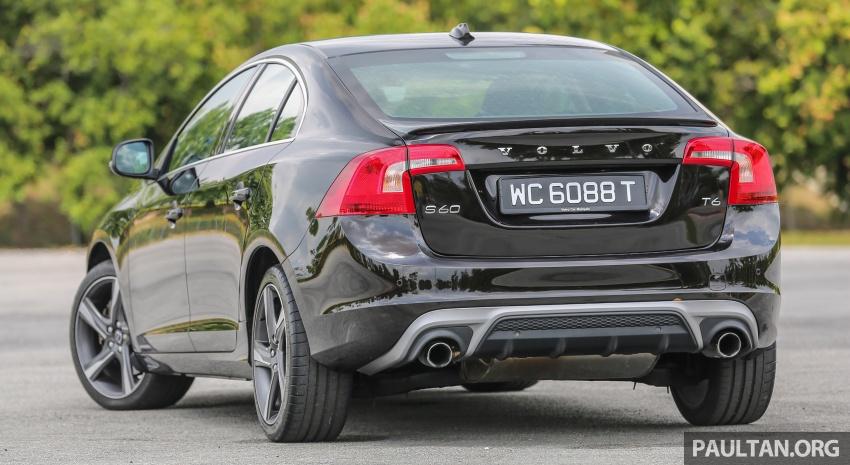 PANDU UJI: Volvo S60 T6 Drive-E – sedan eksekutif 'nakal' dengan imej minimalis serta bersahaja Image #574881