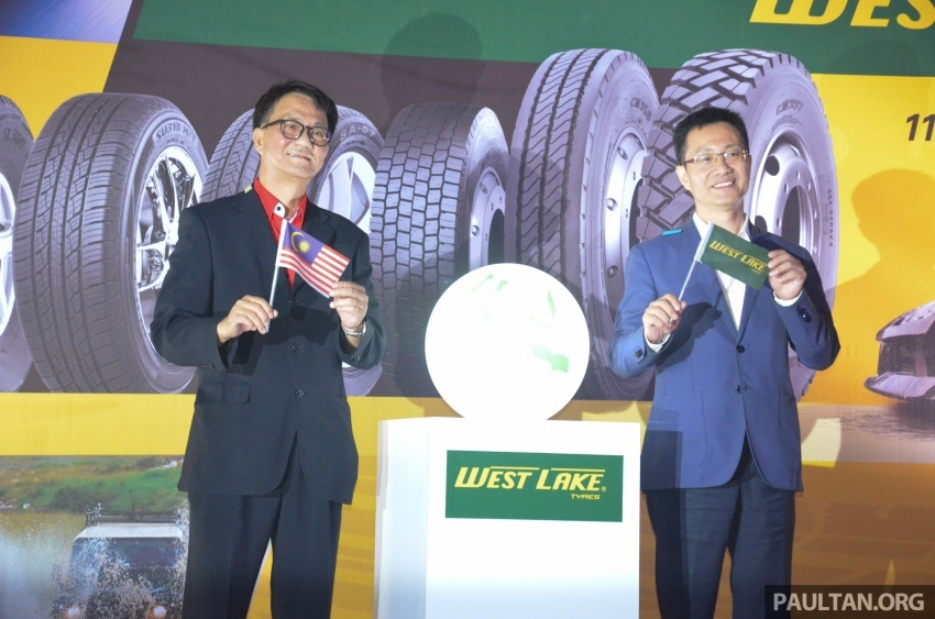 Tayar Westlake dari China diperkenalkan di Malaysia Image #578533