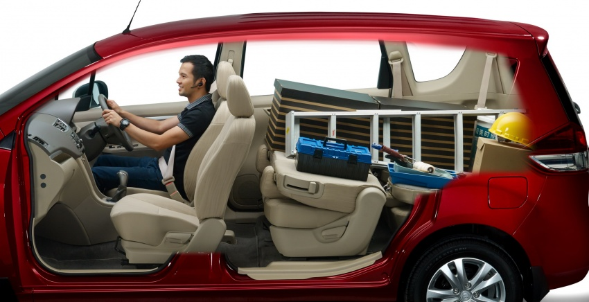 MPV Proton Ertiga dilancarkan – enam-tempat duduk, 1.4 liter VVT, harga bermula RM58,800 – RM64,800 Image #584125