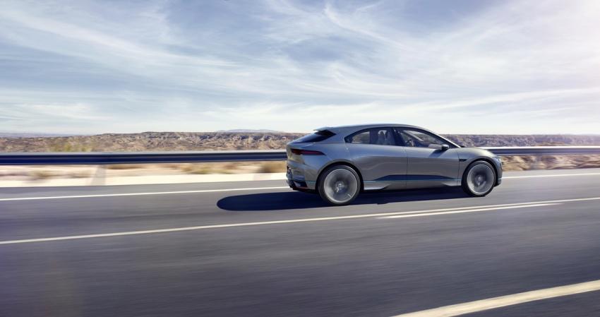 Jaguar I-Pace – kenderaan elektrik pertama Jaguar Image #580475