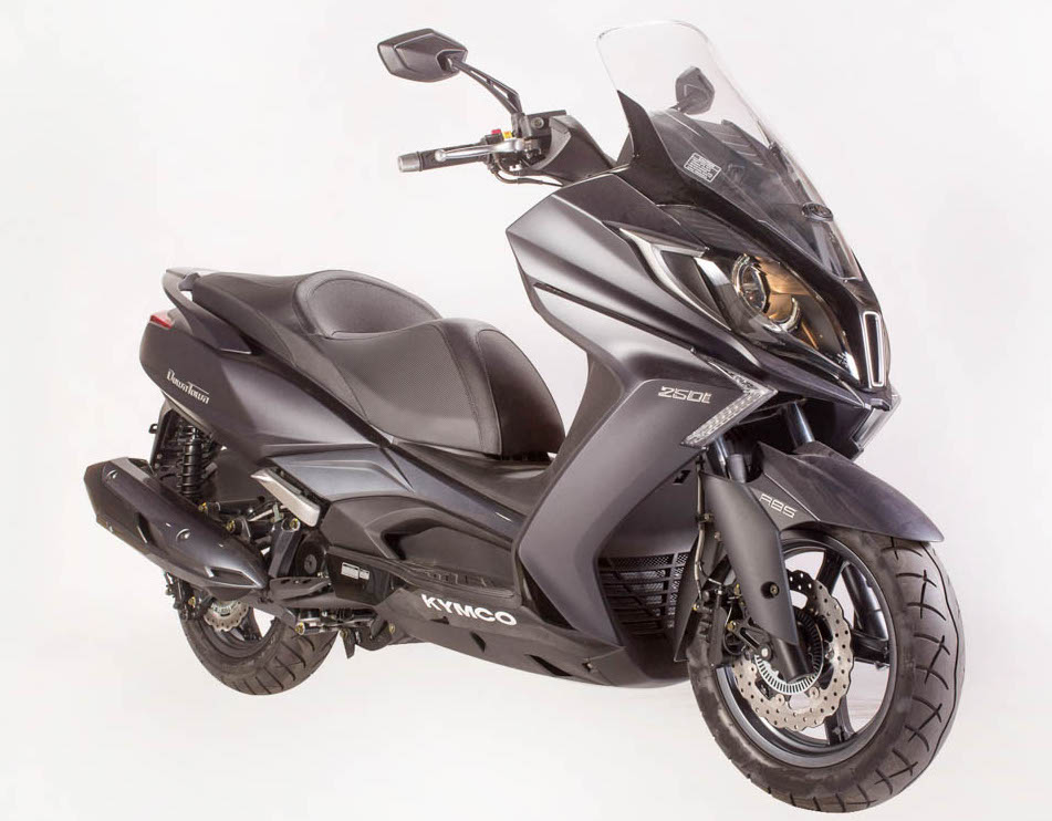 Edaran Modenas To Distribute Kymco Scooters In M Sia New 125 And 250 Cc