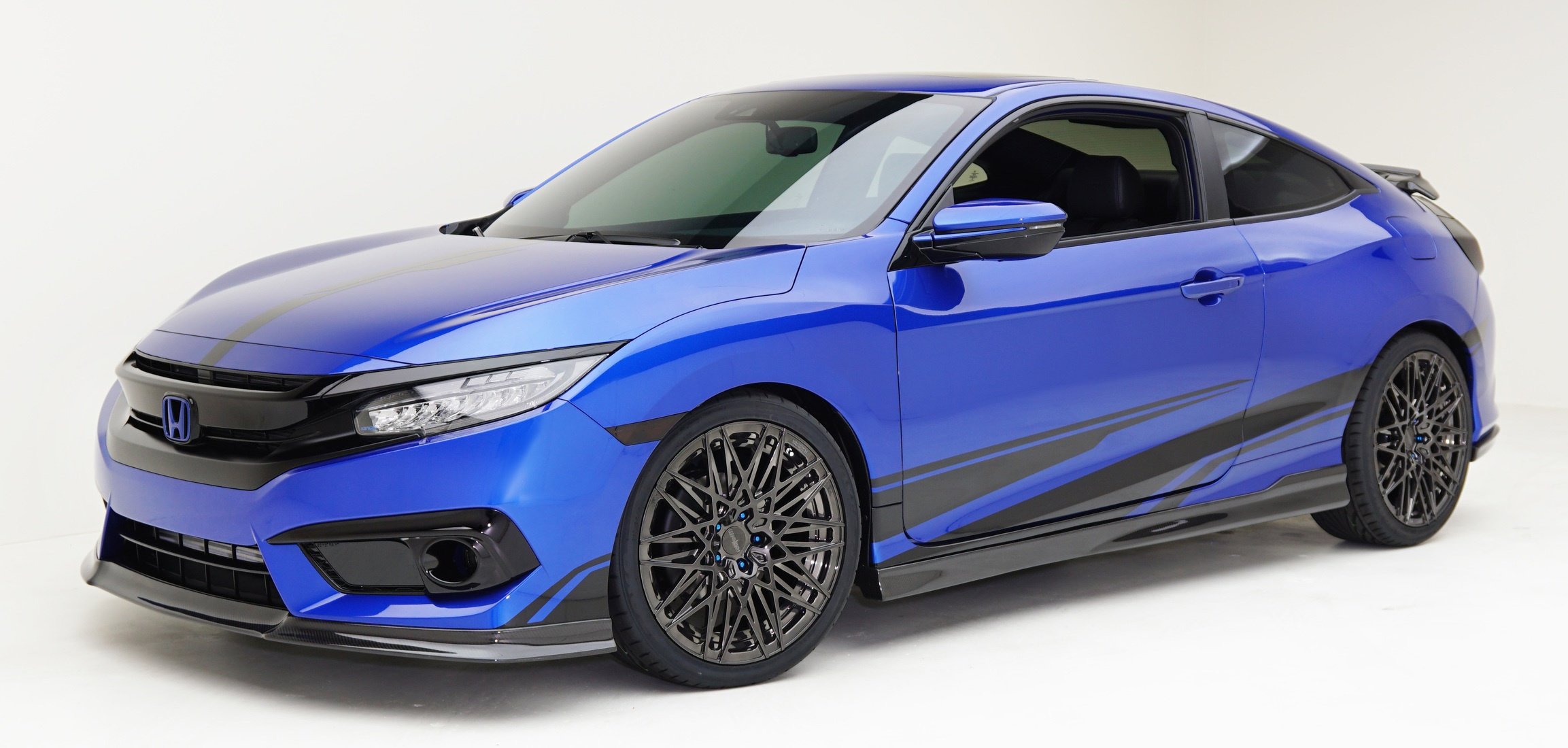 Grc Civic >> Modified Honda Civics showcased at SEMA 2016