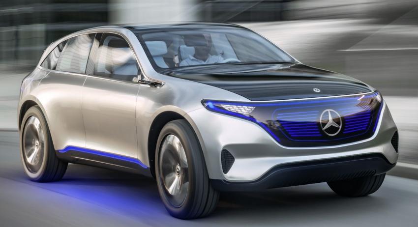 Daimler to invest €10 billion in EVs; Mercedes EQ range to have 700 km range, 0-100 km/h under 5 secs Image #585000