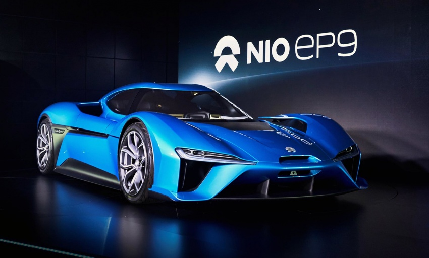 NextEV Nio EP9 unveiled – 1,341 hp, 0-200 km/h in 7.1 seconds, 3G cornering, claims fastest EV 'Ring time Image #583019