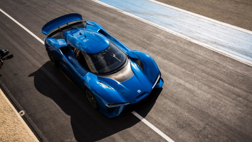 NextEV Nio EP9 unveiled – 1,341 hp, 0-200 km/h in 7.1 seconds, 3G cornering, claims fastest EV 'Ring time Image #583036