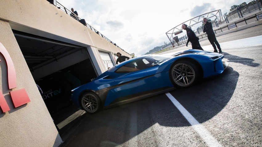NextEV Nio EP9 unveiled – 1,341 hp, 0-200 km/h in 7.1 seconds, 3G cornering, claims fastest EV 'Ring time Image #583039