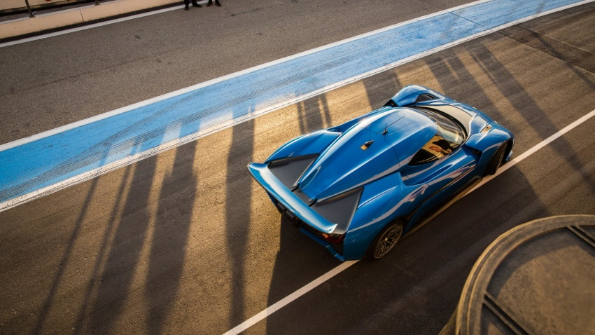 NextEV Nio EP9 unveiled – 1,341 hp, 0-200 km/h in 7.1 seconds, 3G cornering, claims fastest EV 'Ring time Image #583045