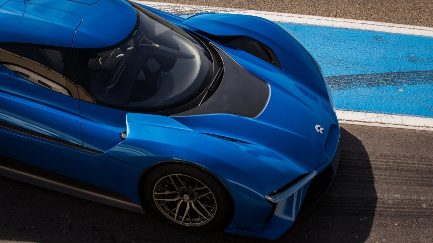 NextEV Nio EP9 unveiled – 1,341 hp, 0-200 km/h in 7.1 seconds, 3G cornering, claims fastest EV 'Ring time Image #583058