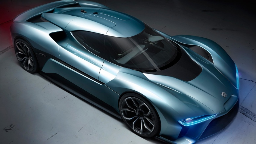 NextEV Nio EP9 unveiled – 1,341 hp, 0-200 km/h in 7.1 seconds, 3G cornering, claims fastest EV 'Ring time Image #583020
