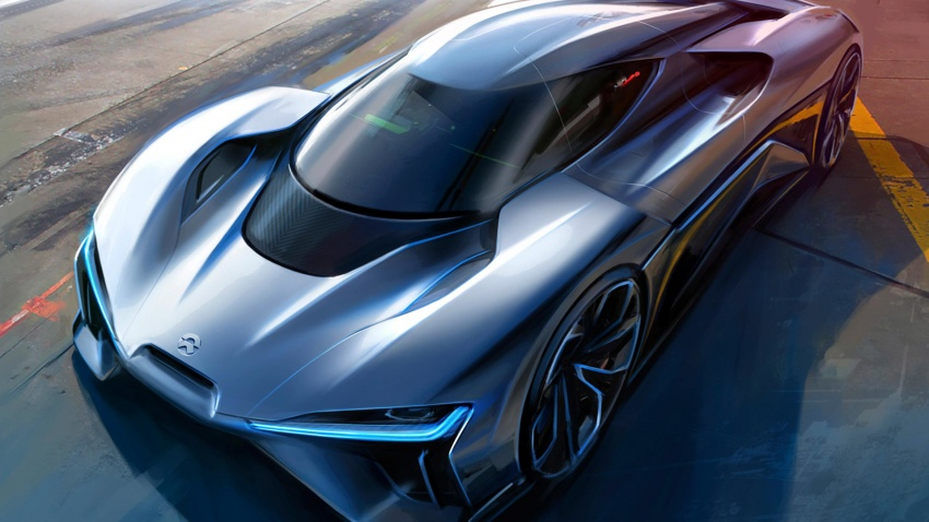 NextEV Nio EP9 unveiled – 1,341 hp, 0-200 km/h in 7.1 seconds, 3G cornering, claims fastest EV 'Ring time Image #583069