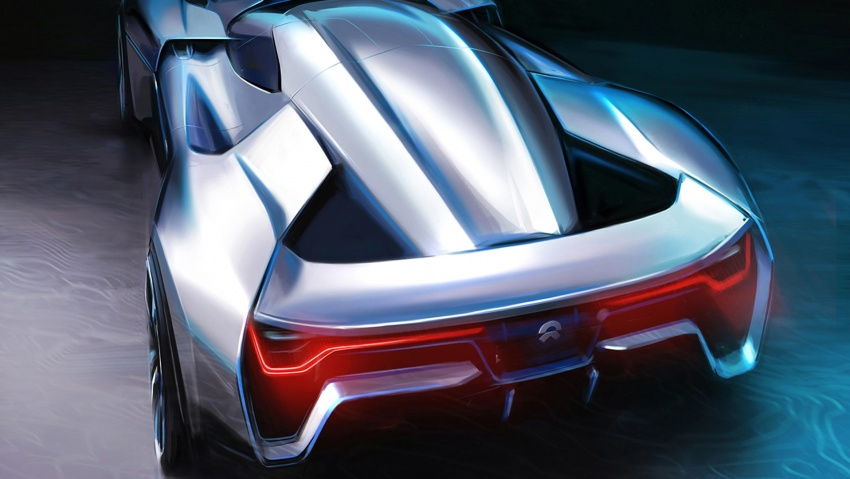 NextEV Nio EP9 unveiled – 1,341 hp, 0-200 km/h in 7.1 seconds, 3G cornering, claims fastest EV 'Ring time Image #583071