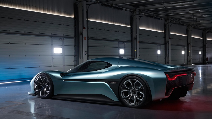 NextEV Nio EP9 unveiled – 1,341 hp, 0-200 km/h in 7.1 seconds, 3G cornering, claims fastest EV 'Ring time Image #583023