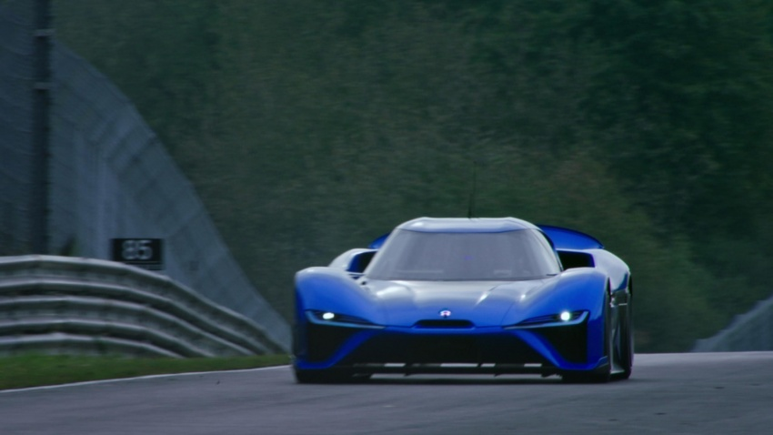 NextEV Nio EP9 unveiled – 1,341 hp, 0-200 km/h in 7.1 seconds, 3G cornering, claims fastest EV 'Ring time Image #583025