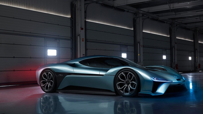 NextEV Nio EP9 unveiled – 1,341 hp, 0-200 km/h in 7.1 seconds, 3G cornering, claims fastest EV 'Ring time Image #583073