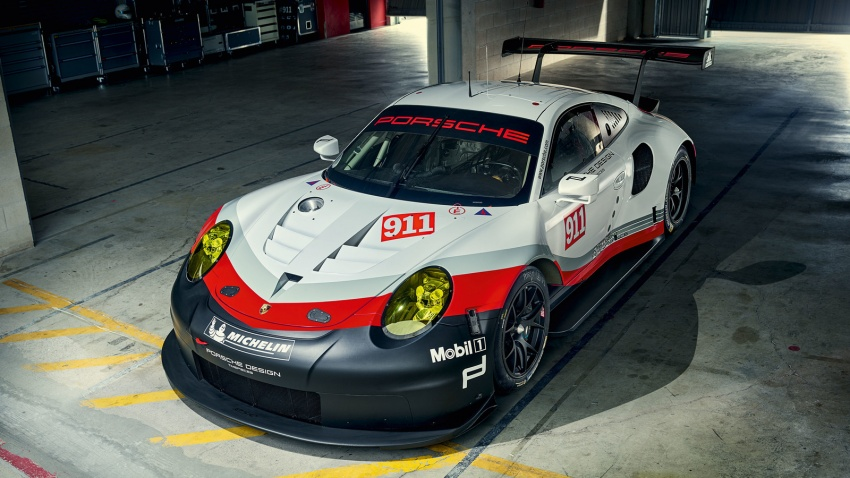 2017 Porsche 911 RSR – race car is now mid-engined Image #580969