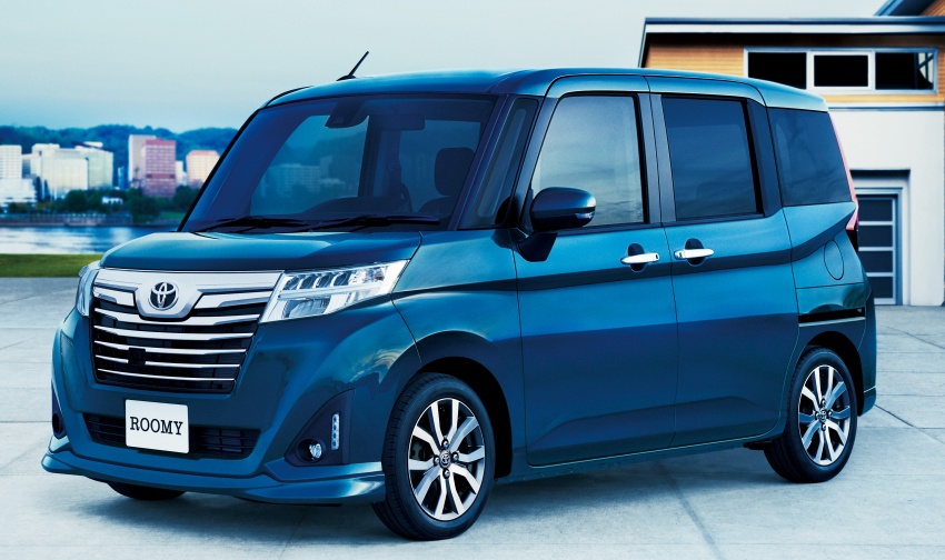 Back to Story: Toyota Roomy and Tank minivans launched in Japan