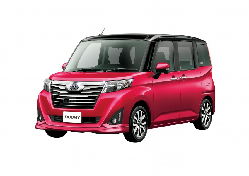 Toyota Roomy and Tank minivans launched in Japan Image #576053