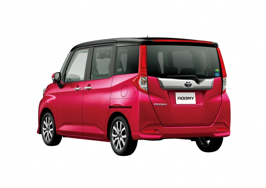 Toyota Roomy and Tank minivans launched in Japan Image #576054