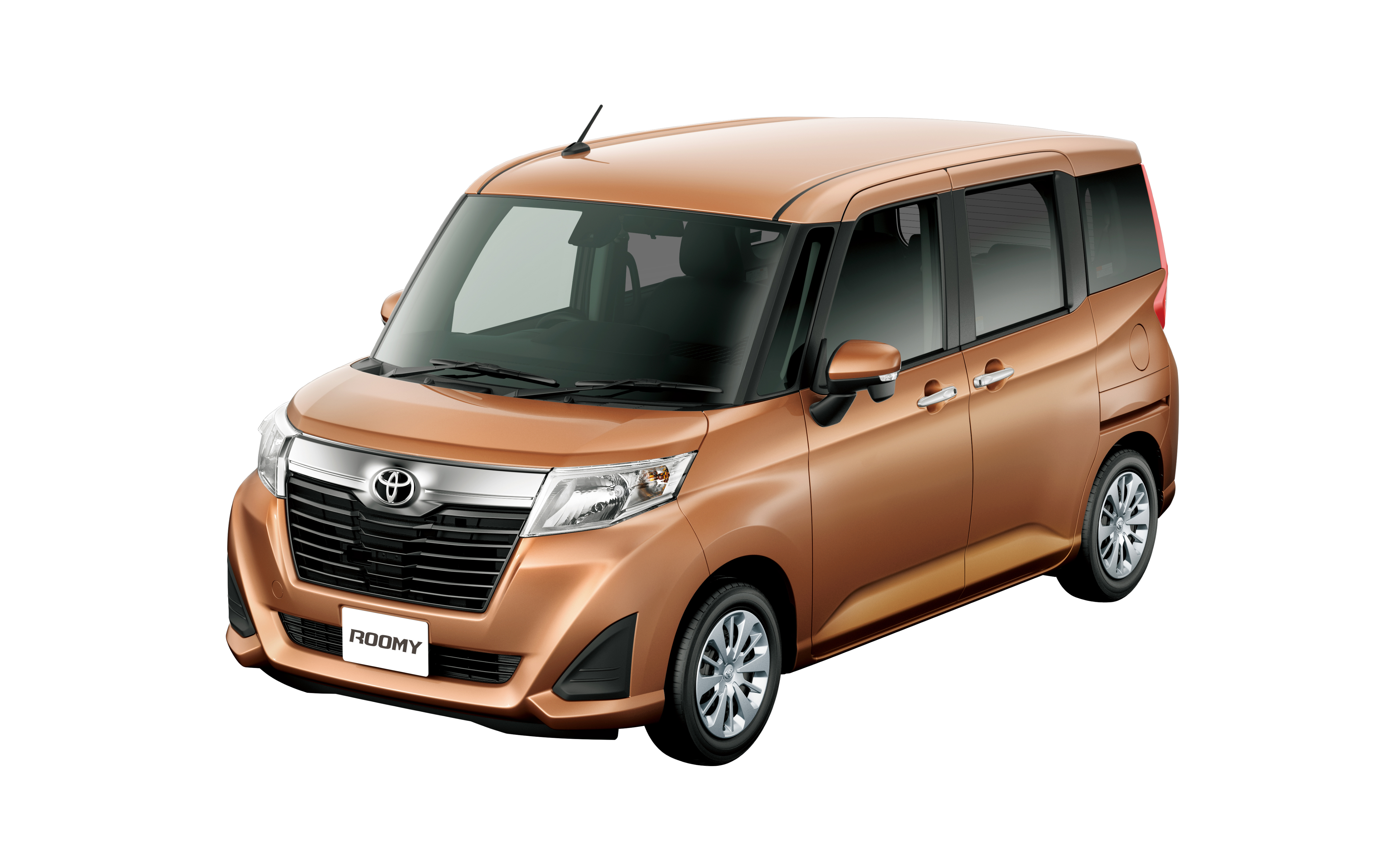 Unique Back To Story Toyota Roomy And Tank Minivans Launched In Japan