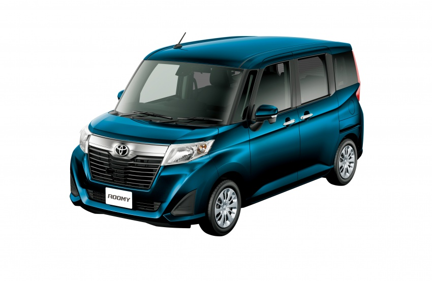 Luxury Back To Story Toyota Roomy And Tank Minivans Launched In Japan