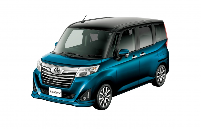 Amazing Back To Story Toyota Roomy And Tank Minivans Launched In Japan