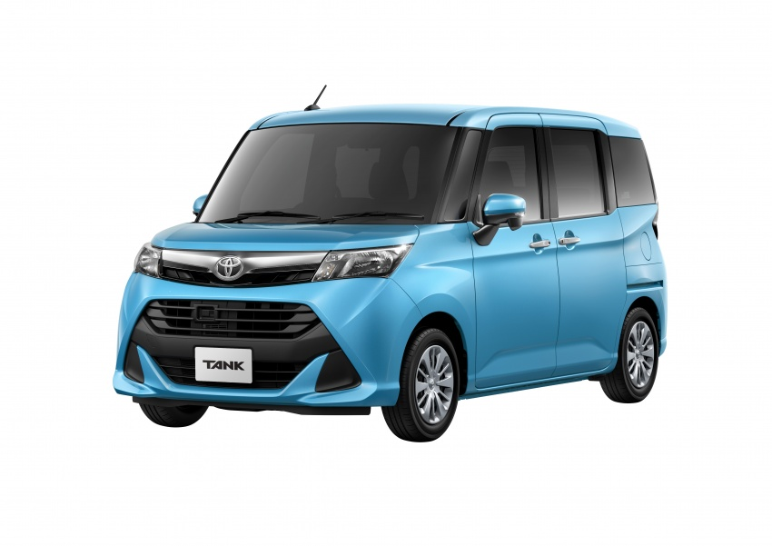 Toyota Roomy and Tank minivans launched in Japan Image #576134