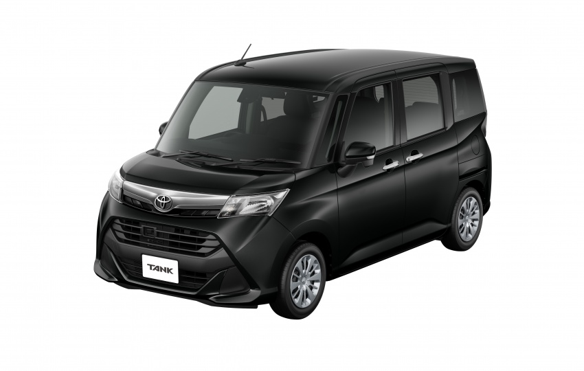 Toyota Roomy and Tank minivans launched in Japan Image #576142