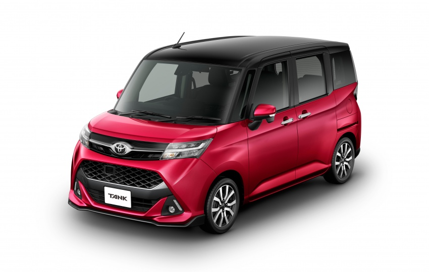 Innovative Back To Story Toyota Roomy And Tank Minivans Launched In Japan
