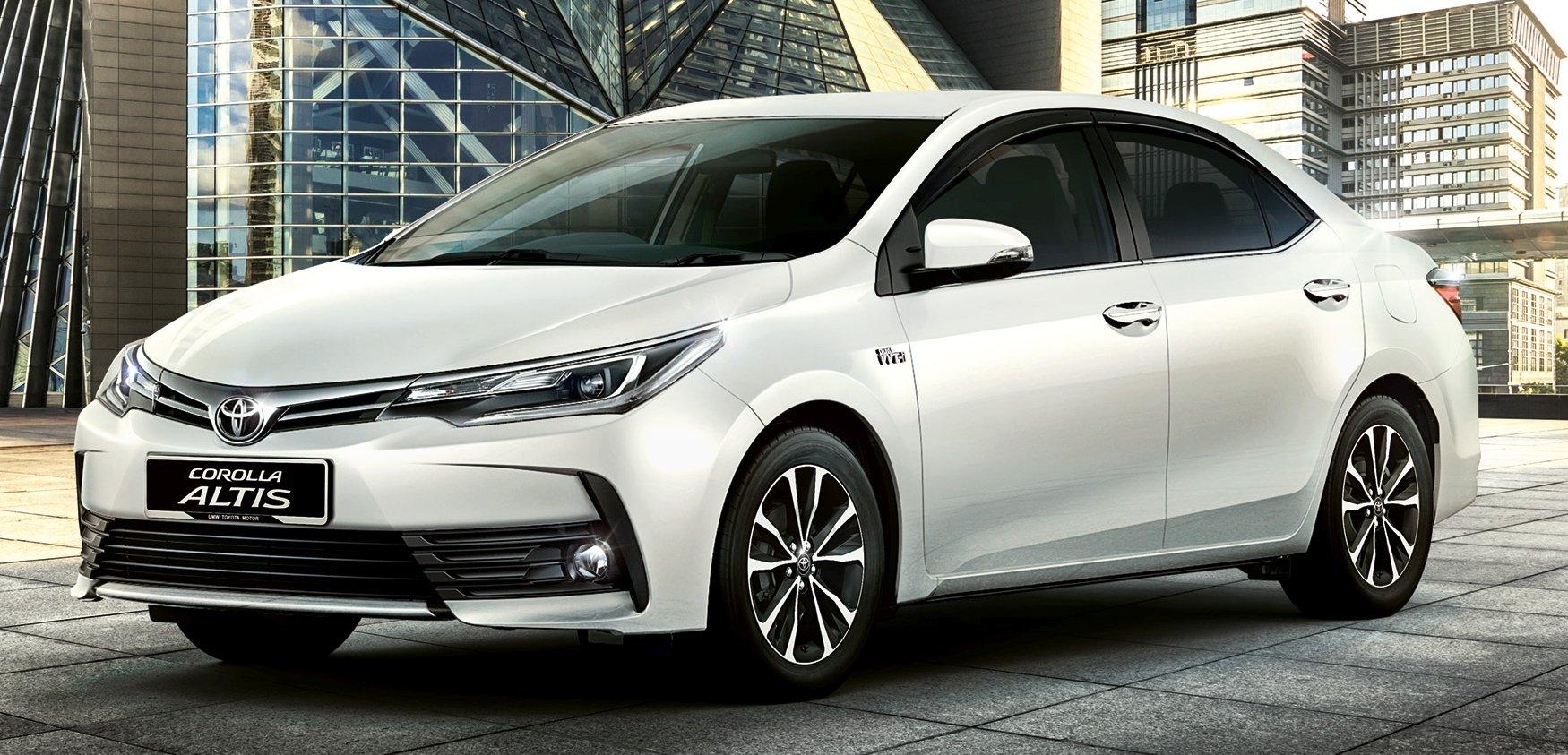 2016 Toyota Corolla Altis Facelift Umw Toyota Opens