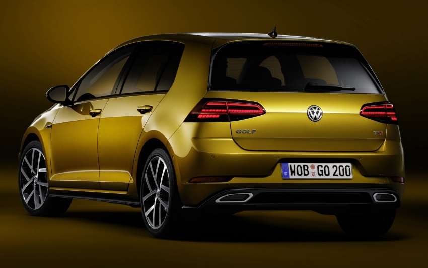 Volkswagen Golf facelift unveiled – Mk7 gets revamped Image #577677