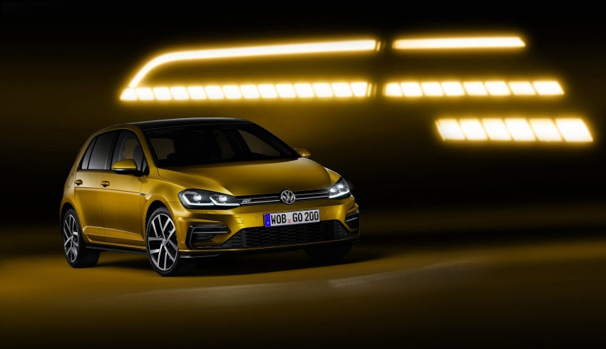 Volkswagen Golf facelift unveiled – Mk7 gets revamped Image #577683