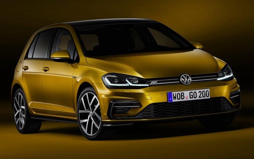 Volkswagen Golf facelift unveiled – Mk7 gets revamped Image #577684