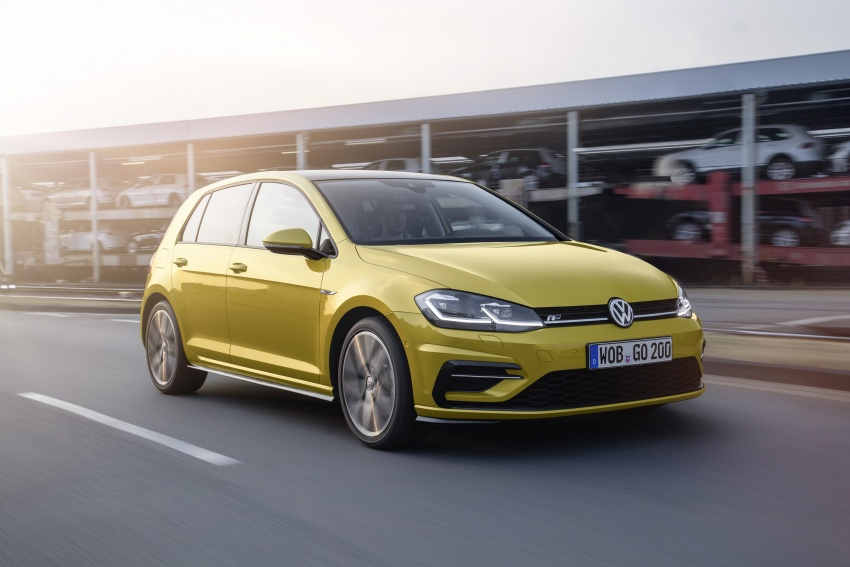 Volkswagen Golf facelift unveiled – Mk7 gets revamped Image #577691